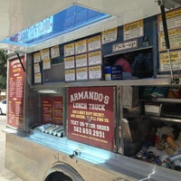 Photo taken at Armando's Lunch Truck by Daynah on 8/22/2013