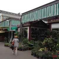 Photo taken at Markt am Carlsplatz by shachar h. on 9/3/2013