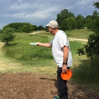 Photo taken at Bryant Lake Disc Golf Course by Joan F. on 7/5/2016