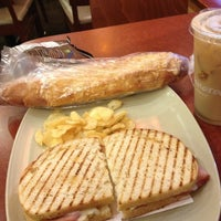 Photo taken at Panera Bread by Donovan on 7/27/2013