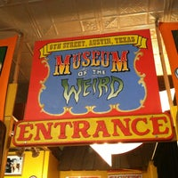 Photo taken at Museum Of The Weird by Candy W. on 4/27/2013
