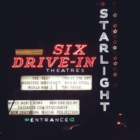 Photo taken at Starlight Six Drive-In by Brian H. on 6/30/2013