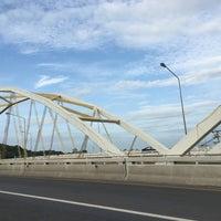 Photo taken at Dechatiwong Bridge by pppppppp on 7/12/2016