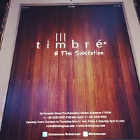 Photo taken at Timbré by Eriec Santos on 9/14/2013