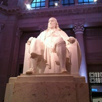 Photo taken at The Franklin Institute by Stephanie G. on 2/17/2013