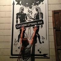 Photo taken at Garden Of Eden Bar by martha v. on 4/20/2013