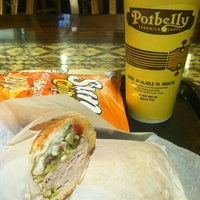 Photo taken at Potbelly Sandwich Shop by Ali B. on 4/1/2013