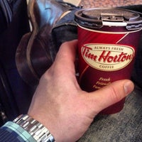 Photo taken at Tim Hortons by Spencer S. on 10/5/2013