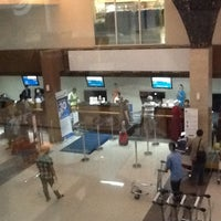 Photo taken at Adi Soemarmo International Airport (SOC) by Ayu Sekar A. on 2/22/2013