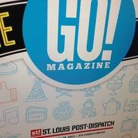 Photo taken at St. Louis Post-Dispatch by Gabe H. on 7/13/2013