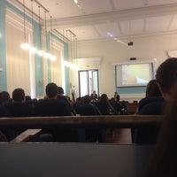 Photo taken at Universitatea din Craiova by Cristina M. on 4/4/2016