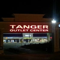 Photo taken at Tanger Outlet Williamsburg by Carnell S. on 1/14/2013