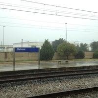 Photo taken at Stazione di Ostuni by Dario C. on 11/28/2012