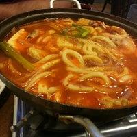 Photo taken at Hosoonyi Korean Restaurant by Rebecca C. on 6/25/2013
