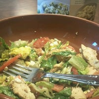 Photo taken at Crispers Fresh Salads, Soups and Sandwiches by Deep D. on 3/25/2013