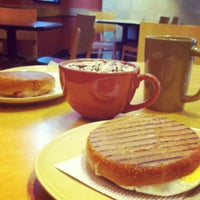 Photo taken at Panera Bread by Liza on 12/8/2012