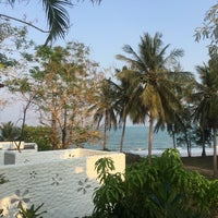 Photo taken at Baan Montra Beach Resort by Meda on 4/1/2016