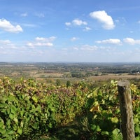 Photo taken at Bluemont Vineyard by Ashley Elizabeth J. on 10/6/2013