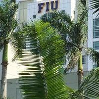 Photo taken at FIU - University Park Campus by Kelle J. on 4/26/2015