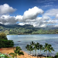Photo taken at The St. Regis Princeville Resort by Andy K. on 6/15/2013