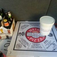Photo taken at Metro Pizza by Tami B. on 6/23/2013