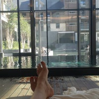 Photo taken at The Spa at The Chedi by Melinda H. on 9/27/2014