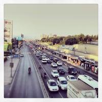 Photo taken at Merter Metro İstasyonu by VOLKAN Y. on 7/17/2013
