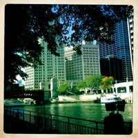 Photo taken at Chicago Architecture Foundation River Cruise by Margot B. on 10/8/2012