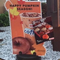 Photo taken at Dunkin Donuts by Debbie Q. on 10/18/2013