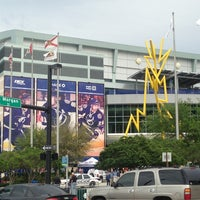 Photo taken at Amalie Arena by Gina F. on 3/18/2013