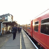 Photo taken at Walton-on-Thames Railway Station (WAL) by James S. on 9/21/2013