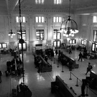 Photo taken at King Street Station (SEA) by Michael L. on 10/23/2013