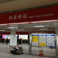 Photo taken at MRT Taipei Main Station by Louis Tsung 宗. on 6/28/2013