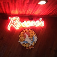 Photo taken at Roscoe's House of Chicken and Waffles by Denzel R. on 3/15/2012