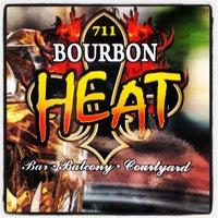 Photo taken at Bourbon Heat by HTEDance on 8/30/2013