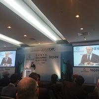 Photo taken at tepav | Türkiye Ekonomi Politikaları Araştırma Vakfı by Fusun N. on 2/15/2016