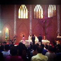 Photo taken at Saint John's Church by supawadee on 4/6/2013