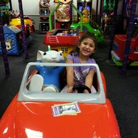 Photo taken at Chuck E. Cheese's by Marcy C. on 10/19/2013
