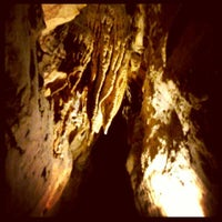 Photo taken at Ruby Falls Haunted Caverns by Nicholas H. on 3/8/2014