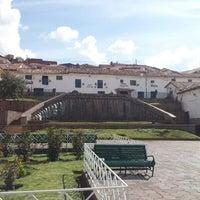 Photo taken at Plaza de San Blas by Christian D. on 11/16/2012