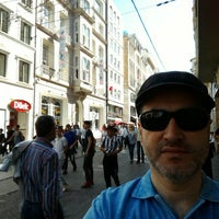 Photo taken at SALT Beyoğlu by Ufuk K. on 4/17/2016