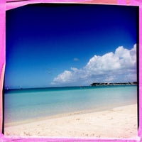 Photo taken at Sapodilla Beach by Tracey H. on 2/21/2014