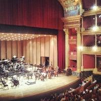 Photo taken at Teatro Degollado by Miguel Ernesto G. on 9/23/2012