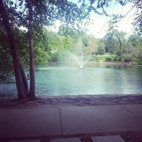 Photo taken at Loose Park by MsChi C. on 6/11/2013