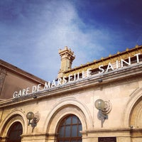 Photo taken at Gare SNCF de Marseille Saint-Charles by Kaysha on 3/16/2013