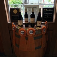 Photo taken at Sunce Winery by linley a. on 5/8/2016