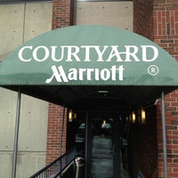 Photo taken at Courtyard by Marriott Boston Cambridge by linley a. on 6/12/2013