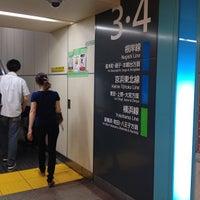 Photo taken at JR 横浜駅 3-4番線ホーム by Yankinu on 6/15/2013
