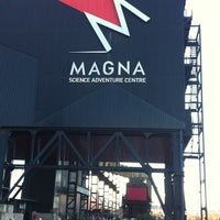 Photo taken at Magna by Caryn Y. on 12/2/2012