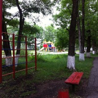 Photo taken at парк Новобурейский by Mila K. on 6/29/2015